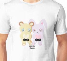 Adorable Gamer ~ Teddy & Bunny Unisex T-Shirt