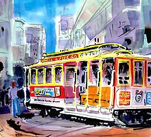 Trolley Turn Around San Francisco by johndunn
