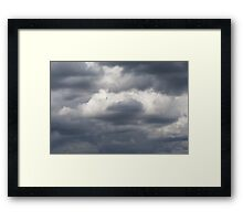The Storms Approach Framed Print