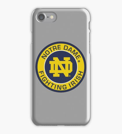 Notre Dame Fighting Irish iPhone Case/Skin