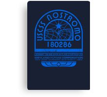 Nostromo Logo - Alien - Prometheus Canvas Print