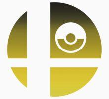 Super Smash Bros - Pikachu Kids Tee