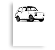 Fiat 126 Canvas Print