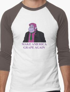 Make America Grape Again Men's Baseball ¾ T-Shirt