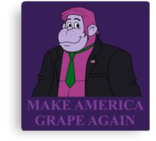 Make America Grape Again Canvas Print