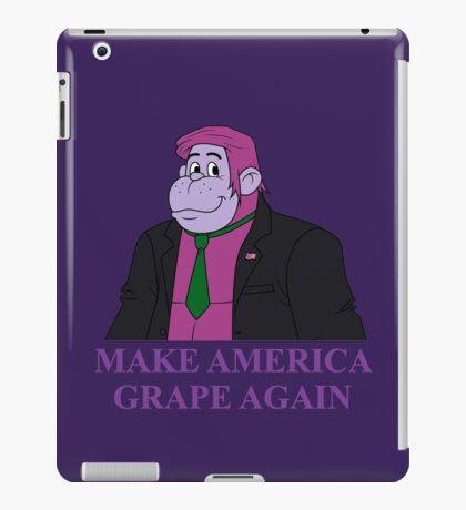 Make America Grape Again iPad Case/Skin