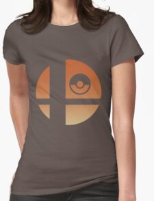 Super Smash Bros - Charizard Womens Fitted T-Shirt