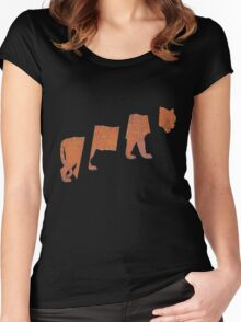 Parquet Courts - Sunbathing Animal Women's Fitted Scoop T-Shirt