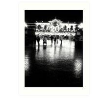 20th Anniversary, Disneyland Paris Art Print