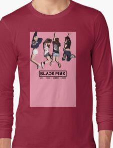 black pink 8 Long Sleeve T-Shirt