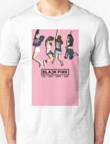 black pink 8 Unisex T-Shirt
