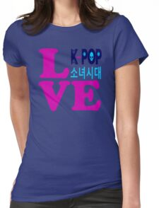 ♥♫Love SNSD-Girls' Generation Fabulous K-Pop Clothes & Phone/iPad/Laptop/MackBook Cases/Skins & Bags & Home Decor & Stationary & Mugs♪♥ Womens Fitted T-Shirt