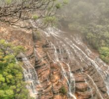 Wentworth Falls from above Sticker