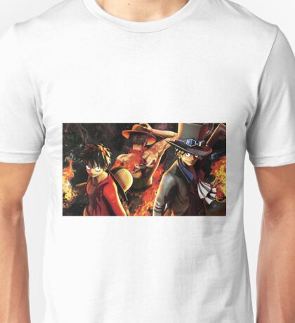 one piece- Epic luffy Ace Sabo one piece Unisex T-Shirt