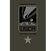 Corporal Dwayne Hicks - Aliens Photographic Print