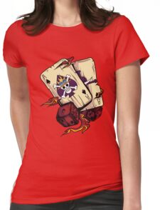 ACE CARDS Womens Fitted T-Shirt
