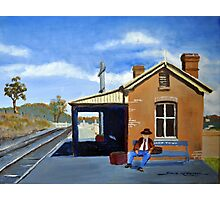 WAITING- STUART TOWN NSW Photographic Print