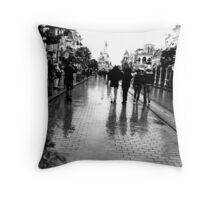 Main Street, Paris Throw Pillow
