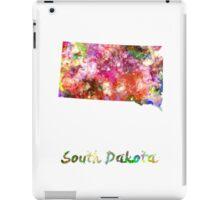South Dakota US state in watercolor iPad Case/Skin