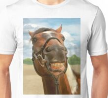 Animal - Horse - I finally got my braces off Unisex T-Shirt