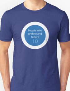 People who understands binary Unisex T-Shirt