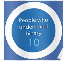 People who understands binary Poster