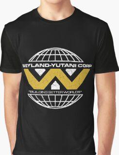 The Weyland-Yutani Corporation Globe Graphic T-Shirt