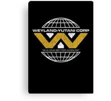 The Weyland-Yutani Corporation Globe Canvas Print