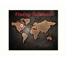 Finding Tallahassee 2 Art Print