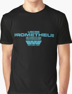Prometheus - Weyland Corp - Crew Graphic T-Shirt