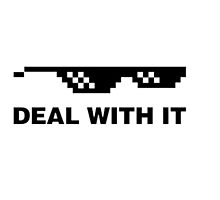 deal with it by SCLfreshware