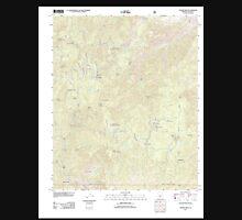 USGS TOPO Map Arizona AZ Crown King 20120518 TM Unisex T-Shirt