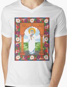 Mother Teresa of Calcutta Icon Mens V-Neck T-Shirt