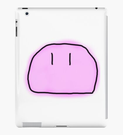 MS PAINT DANGO DAIKAZOKU iPad Case/Skin