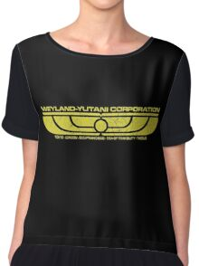The Weyland-Yutani Corporation Wings Chiffon Top
