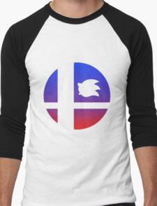 Super Smash Bros - Sonic Men's Baseball ¾ T-Shirt