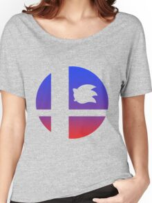 Super Smash Bros - Sonic Women's Relaxed Fit T-Shirt