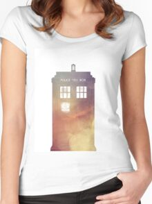 All of Time & Space Women's Fitted Scoop T-Shirt