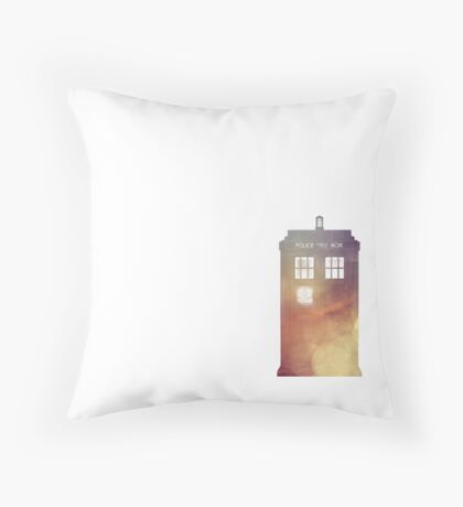 All of Time & Space Throw Pillow