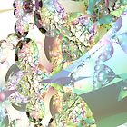 Wings of Angels - Celeste & Amethyst Crystals by Diane Clancy