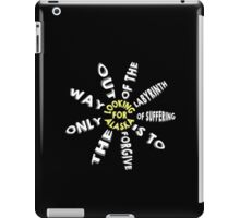 Labyrinth of Suffering iPad Case/Skin