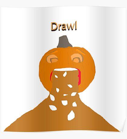 pumpkin barf Poster