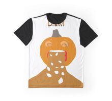 pumpkin barf Graphic T-Shirt