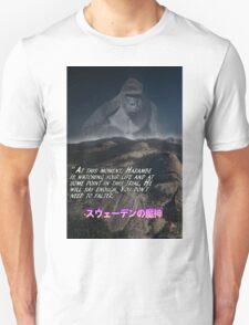 Harambe is always watching (inspirational) Unisex T-Shirt