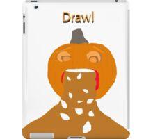 pumpkin barf iPad Case/Skin