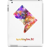 Washington DC US state in watercolor iPad Case/Skin