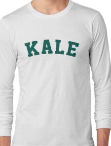 Kale University Funny Vegan Style Long Sleeve T-Shirt