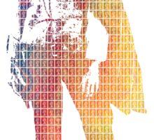 Technicolor Eastwood Sticker
