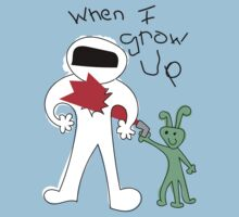 When I Grow Up Astronaut  by THEtoeMas