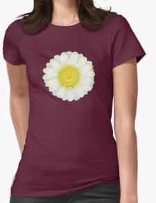 camomile flower Womens Fitted T-Shirt